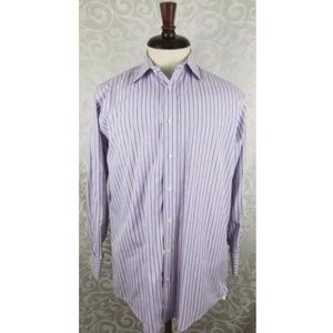 Burberry London Men's Button Down Dress Shirt